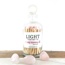 Light Your Way To...Light Pink Matches