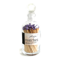 Full Of Fire Lavender Matches