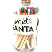 Christmas Secret Santa Matches Apothecary Vintage Small