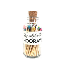 Let's Celebrate HOORAY Apothecary Vintage Small