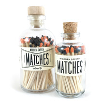 Halloween Matches Apothecary Vintage