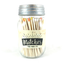 Fall Matches Mason Jar