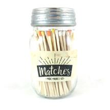 Fall Matches Mason Jar