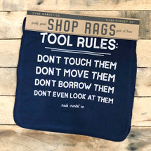 Shop Rag Set Tool Rules