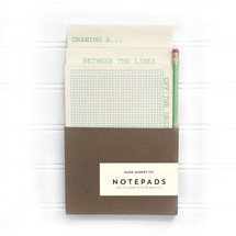 Mint Green Notepad Pencil Set