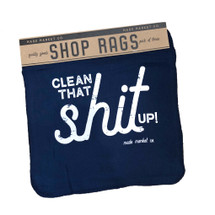 Shop Rag Set Clean Shit Up