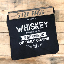 Shop Rag Set Whiskey