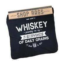Shop Rag Set Whiskey