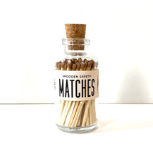 Apothecary Vintage Camel Matches Small