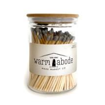 Warm Abode Gray Matches
