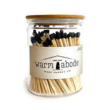 Warm Abode Black Matches