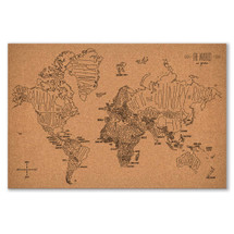 Cork Map World