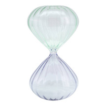 Hourglass 30 Min. Mint & Gray Timer