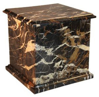 1430 Dark Orchid - Real Marble Urn Square