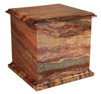 1430 Rosemary - Real Marble Urn Square