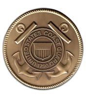 Military Medallion USCG