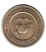 Military Medallion USMC