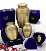 "507/10"" Classic Solid Brass Urn"