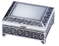 6038 Rectangular Metal Keepsake