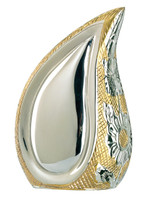 "840/3"" Teardrop Silver/Gold Keepsake"