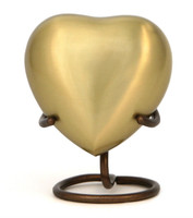 Heart Keepsake - crafted of brass