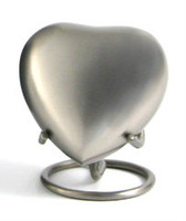 Classic Pewter - Heart Keepsake