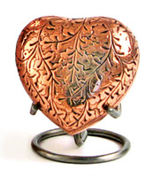 Oak Copper - Heart Keepsake