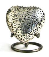 Oak Silver - Heart Keepsake