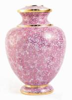 Essence Rose Cloisonné urn - Large/Adult
