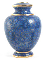 Essence Azure Cloisonné urn - Large/Adult