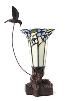 Bouquet Hummingbird Lamp Keepsake - Blue