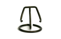 Heart Display Stands - Antique Gold Finish, individual