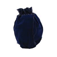 Sapphire Velvet Urn Bag