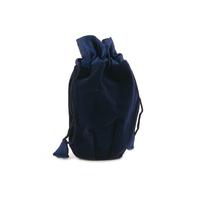 Sapphire Velvet Keepsake Bag