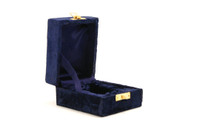 Blue Velvet Keepsake Box