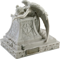Angel in Mourning Keepsake Urn