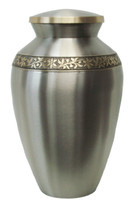 Brushed Pewter Finish - Large/Adult urn