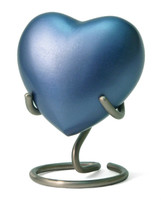 Monterey Blue - Heart Keepsake