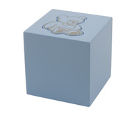 Teddy Bear Infant Urn - Blue