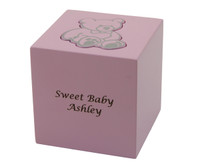 Teddy Bear Infant Urn - Pink