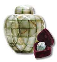 Mosaic Marble Urn - Adult/Full size