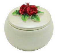 Red Roses Ceramic - Individual Keepsake