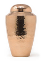 Hammered Copper Adult/Large Urn