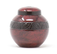 Red Empire Keepsake Urn
