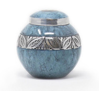 Blue Empire Keepsake Urn