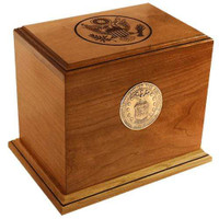 Cherry Patriot Urn