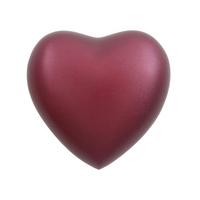 Grecian Magenta- Heart Keepsake