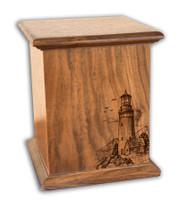 New Horizon Lighthouse - Walnut
