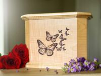 Butterfly Urn - Maple