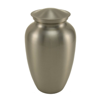 Pewter Gloss Urn - Large/Adult